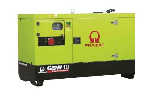 Электрогенератор PRAMAC GSW10Y с гарантией