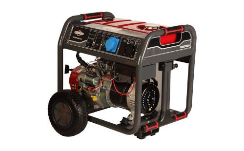 Бензиновый электрогенератор BRIGGS & STRATTON 8500 EA с гарантией