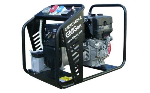 Сварочный электрогенератор GMGen GMSD180LE с гарантией
