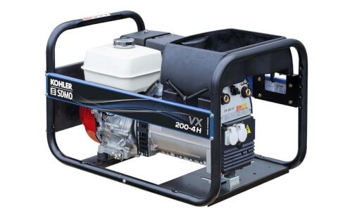Сварочный генератор SDMO VX 200-4H от ЭлекТрейд