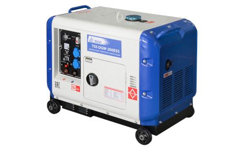 Сварочный электрогенератор ТСС DGW-200ESS с гарантией