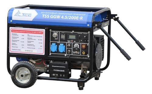 Сварочный электрогенератор ТСС GGW 4.5/200E-R с гарантией