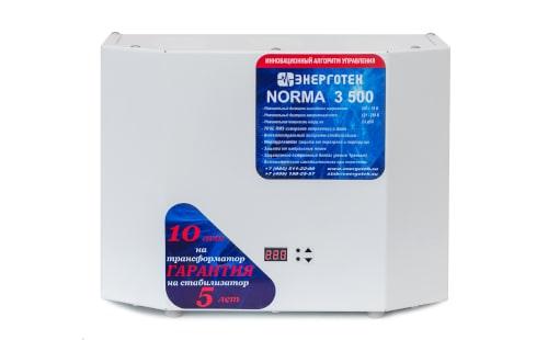 Стабилизатор Энерготех NORMA 3500 от ЭлекТрейд