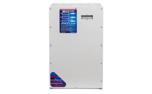 Стабилизатор Энерготех OPTIMUM+ 15000х3 от ЭлекТрейд