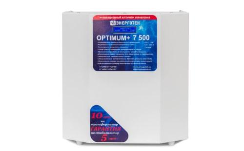 Стабилизатор Энерготех OPTIMUM+ 7500 с гарантией